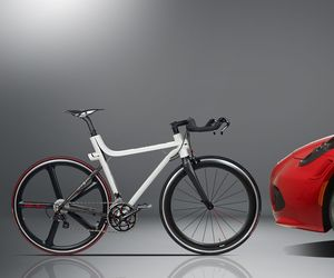 4C IFD Bicycle by Alfa Romeo