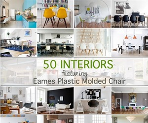 50 Interiors Featuring The Iconic Eames Molded Plastic Chair