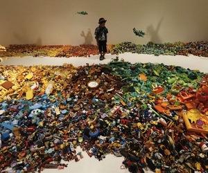 50,000 Toys Turned Art by Hiroshi Fuji