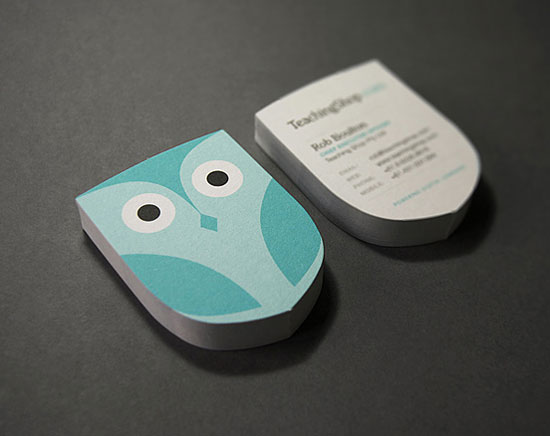 55 unusual yet creative business card designs