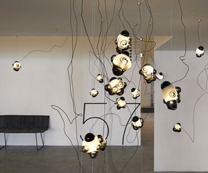 57 chandelier by Omer Arbel for Bocci