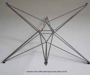 6 Arm Table Base by the Sphere of OZ