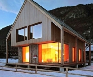 6x11 Alpine Hut by OFIS Architects