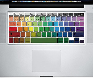 8 Cool MacBook Keyboard Decals