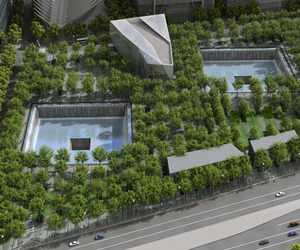 9/11 Museum:  Commemoration to the Twin Tower tragedy