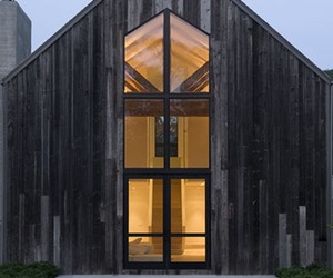 A beautifully renovated barn house