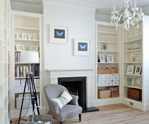 A Crisp White Home in Richmond