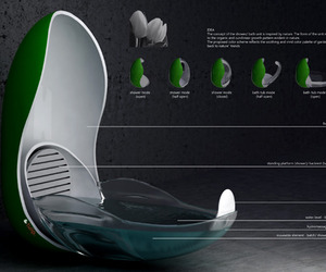 A Dub Dub, Tub Futuristic by Piotr Pyrtek