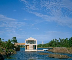 The Floating House by MOS Architects