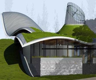 Visitor Center At Vandusen Botanical Garden