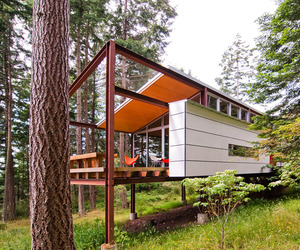 A Home on Orcas Island by Gordon Walker