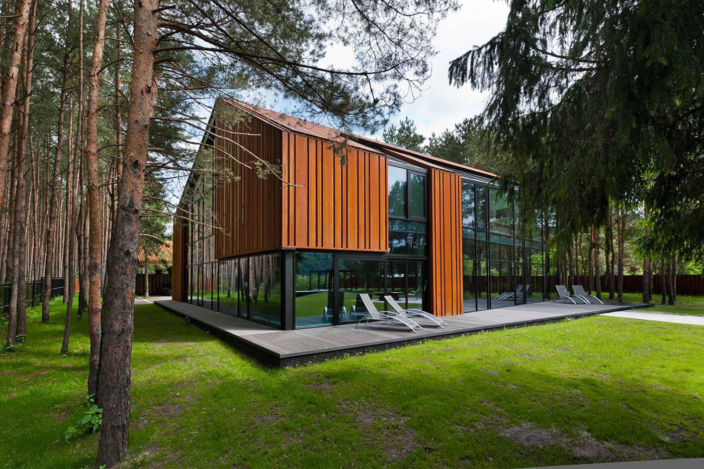 A House In The Woods Of Kaunas