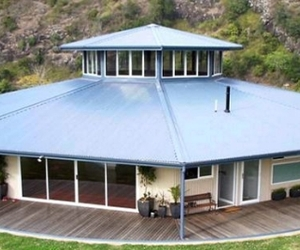 A house in Wingham that rotates to follow the sun