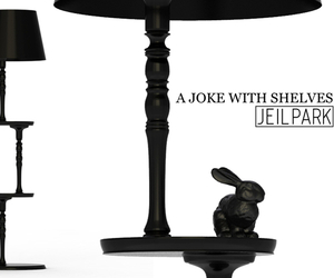 A Joke with Shelves, Floor Lamp by Jeil Park