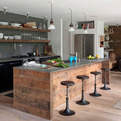A Modern-Rustic Beach House in The Hamptons