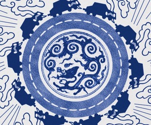 A Modern Version Of Willow Pattern China