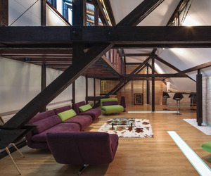A Renovated Loft in Bucharest by TECON