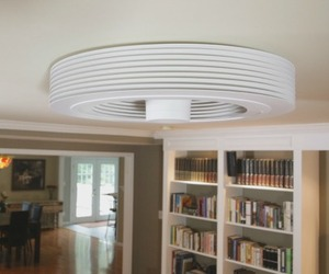 Bladeless Ceiling Fan Concept | Exhale Fans