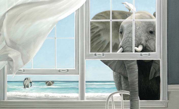 Quot A Room With A View Quot Paintings By Karen Hollingsworth
