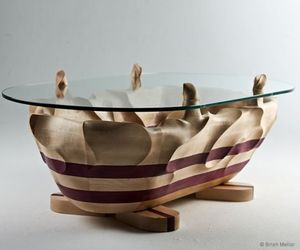 A Sculptural Coffee Table By Brish Mellor