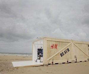 A Shore Way to Shop,.H&M Store on the Beach
