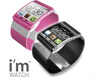A Smartphone for your wrist, the i'm Watch.