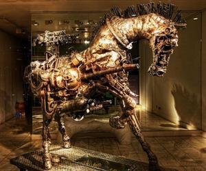A Steampunk Horse