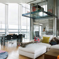 A Steel Glass Penthouse in London