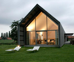 A transformed barn into a stylish home