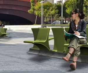 A Two Way Garden Bench By Daniel Pearlman