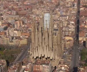 A Video Shows the Completion of Sagrada Família