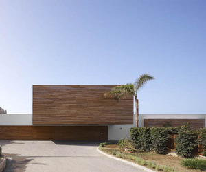 A Wood-clad Dream House in Almunecar