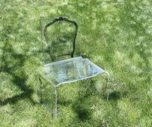 Aaron R. Thomas Ghost Chair
