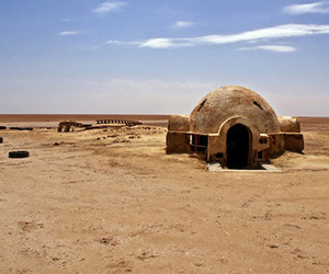 Abandoned Star Wars Film Set in the Tunisian Desert