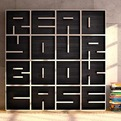 ABC Bookcase - Letter and Number Cubbies