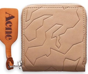 Acne Amber Geo Wallet
