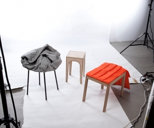 'Adhocker' stool collection
