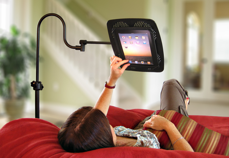air gps tablet ip nexus android lazy stand bed mount samsung holder ipad mini rotating for desktop