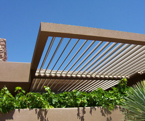 Adjustable Louvered Roof System