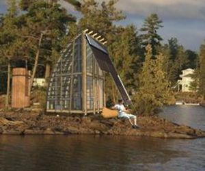 aerieLOFT: A Prefab Sanctuary in the Woods