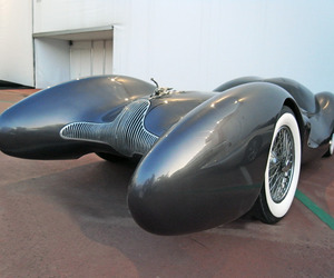 Aerodynamic Race Cars by Luigi Colani