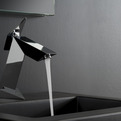 Aerodynamically inspired bathroom fittings