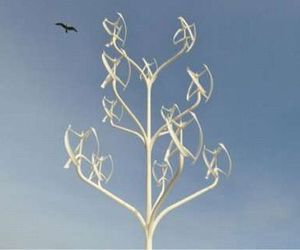 Power Flowers, Aesthetic Treelike Turbines Add To Landscape