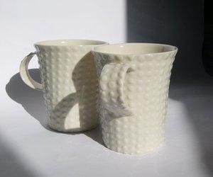 African Porcelain Amasumpa Mugs by John Newdigate
