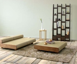 Agura Sofa by Hisae Igarashi for Sajica