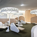 Air France Lounge by Noé Duchaufour Lawrance