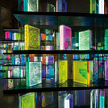 Airan Kang's LED Digital Book Installation