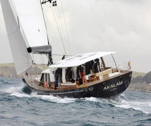 Akalam from Pendennis Shipyard completes sea trials