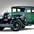 Al Capone's 1928 Cadillac V8 Town Sedan