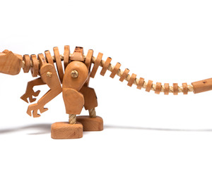 Alan Zarczynski | A Wooden Jurassic Park